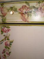 Decoupage dresser