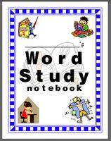 Word work activities!  Accompanies words their way