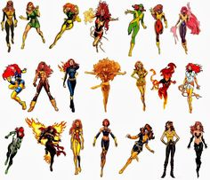 The Comic Book Hero: Jean Grey's Phoenix costume history