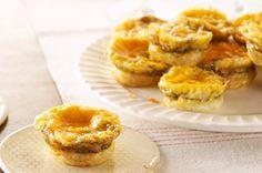 Mini Ham & Cheese Fritattas