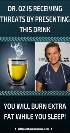 Dr. Oz, Korean Diet Plan, Detox Cleanse For Weight Loss, Banana Drinks, Banana Smoothies, Fruit Drinks, Beverages, Fat Burning Drinks, Fat Burning Tea