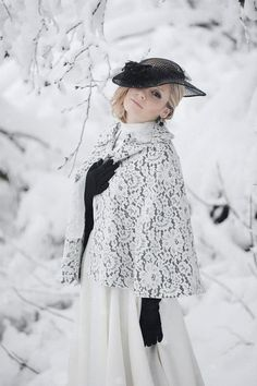 Stunning Wedding Cloaks and Shrugs for Winter Brides