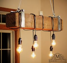 Woodworking Course 20 Savvy Handmade Industrial Decor Ideas You Can DIY For Your Home - A collection of DIY ideas featuring 20 Savvy Handmade Industrial Decor Ideas You Can DIY For Your Home. Handmade Home Decor, Unique Home Decor, Vintage Home Decor, Modern Decor, Rustic Decor, Country Decor, Handmade Ideas, Country Living, Rustic Wood