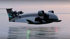 Art Pictures, Art Pics, Flying Ship, Sea Plane, Ground Effects, Aliens And Ufos, Shipping Company, Transportation Design, Futuristic