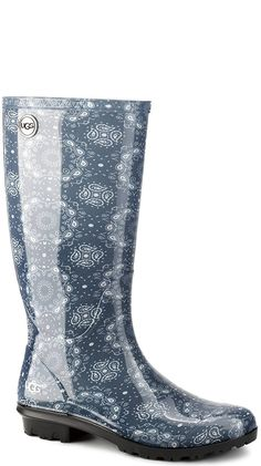 UGG Womens Shaye Bandana Rain Boot ** You can find out more details at the link of the image.