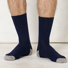 Braintree Coloured Bamboo Socks - Braintree Thoughtful Clothing - A pair of plain, eco-friendly socks available in a range of colours to suit your mood. #EcoFriendly #Sustainable #Organic