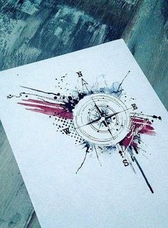 Nautical water color