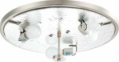 Esprit 3 Light Ceiling Fixture Flush Mount