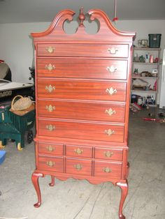 antique refinish job