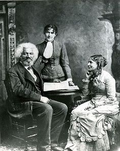 Frederick Douglass and his second wife Helen Pitt. #frederickdouglass