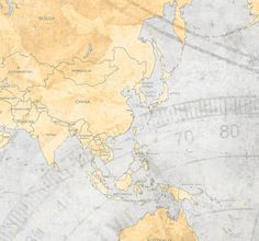 World map canvas print vintage neutral light by natalyborichart world map canvas print vintage light gray by natalyborichart sciox Images