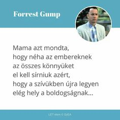 Forrest Gump, Haiku, Texts, Life Quotes, Inspirational Quotes, Thoughts, Motivation, Feelings, Reading