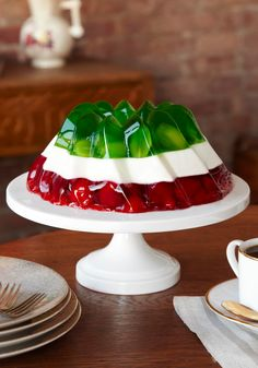 With this Jell-O Celebration Dessert, victory is guaranteed.