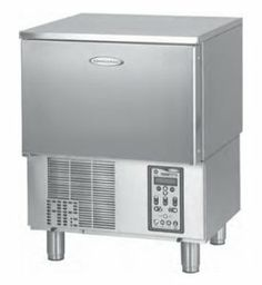 """American Panel AP3BCF30-1 Undercounter Blast Chiller w/ (3) 12 x 20-in Pan Capacity, Reach-In, Each by American Panel. $7395.12. American Panel AP3BCF30-1 Undercounter Blast Chiller w/ (3) 12 x 20-in Pan Capacity, Reach-In. HurriChill Blast Chiller/Shock Freezer, Reach-In, undercounter, self-contained, (3) 12"""" x 20"""" x 2.5"""" pan capacity, 30 lbs. from 160F to 38F blast chill capacity/90 mins., 18 lbs. 160F to 0F freeze capacity/240 mins., solid-state electronic cont..."""