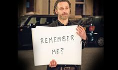 """Andrew Lincoln returns in Love actually 2: """"Remember me?"""" """"That business trip to Atlanta didn't work out as planned..."""" http://ift.tt/2mh9BBA"""
