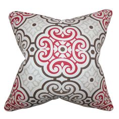 Nascha Geometric Cotton Throw Pillow