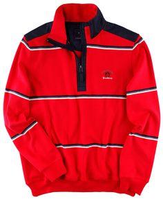 #Sweatshirt im frischen Streifenlook