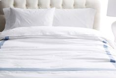 Dashiell Duvet Set, Chambray