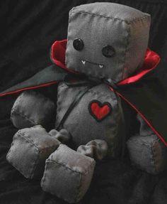 Vampire Robot Plushies