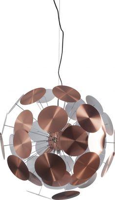 Hanging lamp - Plenty Work - Copper - Zuiver - Lilianshouse.co.uk - Living- and Lifestylewebshop