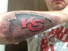 1000 images about kansas city chiefs tattoos on pinterest for Kansas city tattoo