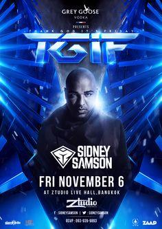 TGIF : Thank God It's Friday | SIDNEY SAMSON