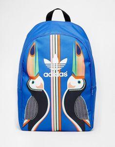 bf50caef3d1443 Bild 1 von adidas Originals x Farm – Tukana – Rucksack Adidas Bags, Adidas  Backpack