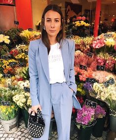 suits for women business chic, lavender suit, suits for women professional work outfits, suits for women business office wear Business Fashion Professional, Business Chic, Business Outfits Women, Business Dresses, Spring Outfits Women, Summer Dresses For Women, Blazers For Women, Suits For Women, Lavender Outfit