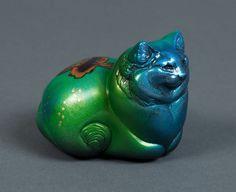 "Windstone Editions ""Grab Bag Edition"" Goldfish Fat Pebble Cat Figurine | eBay #cat #collectable #art"