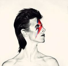 David Bowie / Aladdin Sane turns 40 today....and still timeless. Album was released June 6, 1972