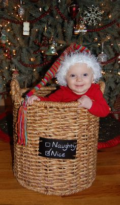 Christmas Baby Picture    #Babies