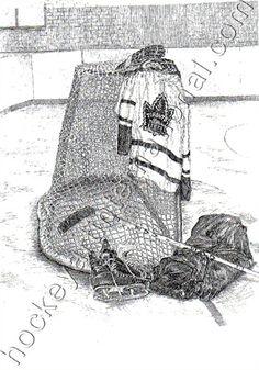 Toronto Maple Leafs' - By Alberta Artist Janet Nash