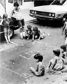 Skully (a.k.a. skelly, skilsies, skelsies) was one of the most popular street games in the New York City area,