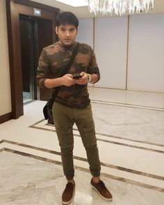 Ready for media interaction in Dubai . releasing on nov . Styled by Kapil Sharma, Military Jacket, Dubai, Style, Fashion, Moda, Military Vest, Stylus, Fasion