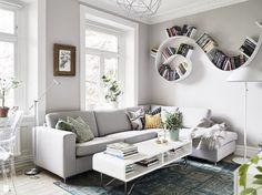 Salon styl Skandynawski - zdjęcie od MartaWieclawDesign - Salon - Styl Skandynawski - MartaWieclawDesign