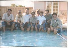 By the pool...Don,Melisa,Jeremy,Chris,Deb,Josh,Donny,Brandon.