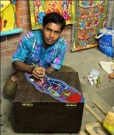 :Laltu Chitrakar from West Bengal
