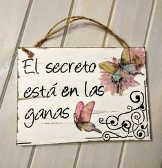 Frases Vintage Frases, Wood Crafts, Diy And Crafts, Decoupage Vintage, Country Paintings, Vintage Wood, Country Decor, Wood Signs, Art Projects