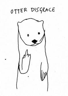 Otter Disgrace | Kotzendes Einhorn