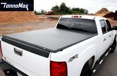 TonnoMax TC-MTF07 6.5' Soft Tri-Fold Tonneau Cover for Ford F-150. For product info go to:  https://www.caraccessoriesonlinemarket.com/tonnomax-tc-mtf07-6-5-soft-tri-fold-tonneau-cover-for-ford-f-150/