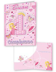 Biglietto Di Buon Compleanno Per Bambini Di 3 Anni Con Lola