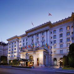 The Fairmont San Francisco—San Francisco, California. #Jetsetter