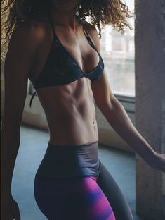 Lean and Toned. Perfection. Look at that booty!