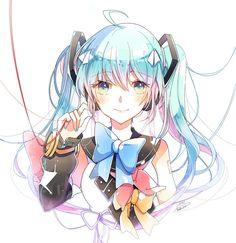 Hatsune Miku, Avatar, Girl Memes, Kawaii, Best Waifu, Concept Art, Fan Art, Deviantart, Wallpaper