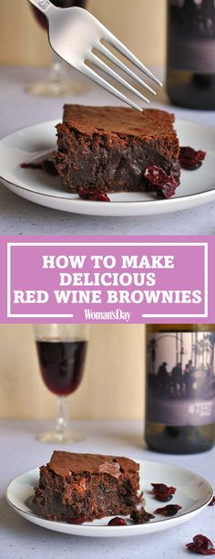 Red wine brownies are here to solve all of your problems. You'll be hooked after taking one bite of these delicious chocolate red wine brownies. Just imagine the taste of fudge and red wine. These make for a perfect night in with the girls! The daring girls will also enjoy them with a glass of red wine!