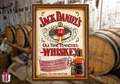 Para aproveitar bem o espaço vazio da casa, decore com quadros. Escolha o seu preferido na Adoro Presentes. #Quadros #Telas #JackDaniels #Whiskey #QuadroWhiskey #QuadrodeBebidas #Decoração #AdoroPresentes