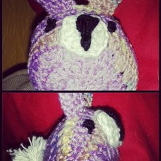 Crochet easter bunny by The Green Dragonfly