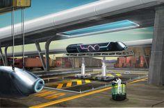 Empresa da Califórnia ficará responsável por construção de trem de alta velocidade a vácuo, Primeiro projeto para o transporte de carga será apresentado em setembro.