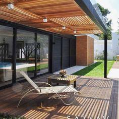 37 Best Pergola Ideas and Style Arround The World Diy Pergola, Pergola Kits, Outdoor Spaces, Outdoor Living, Outdoor Decor, Porch Ceiling, Garden Compost, Autumn Garden, House Front