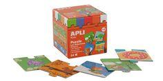 Играй и учи с APLI Kids 13192 Пъзел - Сезони. Безопасна играчка за деца над 3 години.